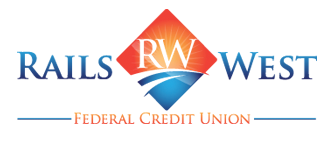 Rails West Federal Credit Union Logo